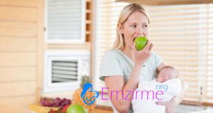 emziren anneler için gerekli günlük besin tüketim miktari