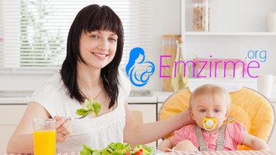 emzirme döneminde diyet