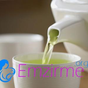 emzirme döneminde yeşil çay